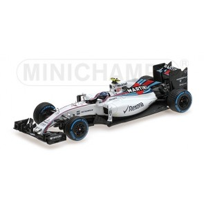 1:43 Williams Mercedes FW32 Valtteri Bottas Brazil 2016