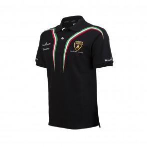 'Adult' Lamborghini Squadra Corse polo Men Black