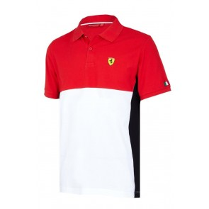 Ferrari Cut and Sew Polo