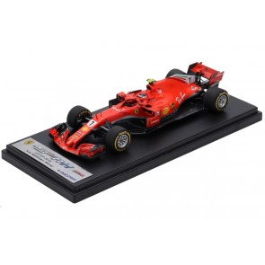 1:43 Ferrari SF71-H Kimi Raikkonen Winner US GP 2018