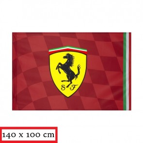 2019 Ferrari 'Fan' Vlag Extra Big