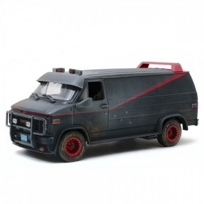 1:18 GMC Vandura 'weathered version with bullet holes' The A-Team
