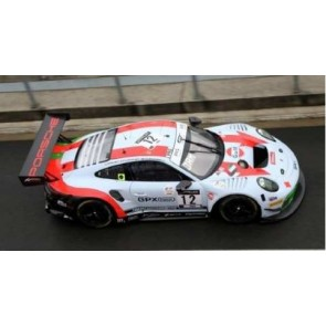 1:18 Porsche 911 GT3 R No.12 GPX Racing 4th 24H Spa 2020, M. Campbell - P. Pilet - M. Jaminet