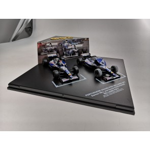 1:43 Williams FW17 Damon Hill and David Coulthard Dubbelset Portugese GP