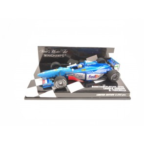 1:43 Benetton Playlife 1998 Launch Version Giancarlo Fisichella