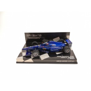 1:43 Prost Peugeot AP01 Launch Version Jarno Trulli