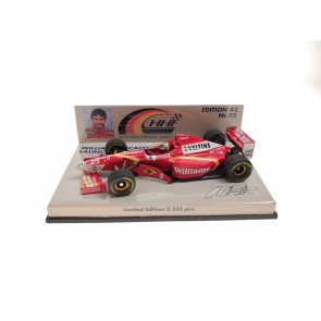 1:43 Williams Renault FW20 Mecachrome Launch Version Heinz-Harald Frentzen