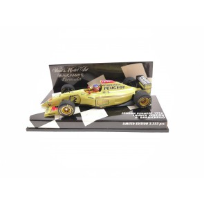 1:43 Jordan Peugeot 1996 Launch Version Rubens Barrichello