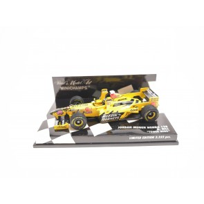 "1:43 Jordan Mugen Honda 198 ""Tower Wing"" Damon Hill"