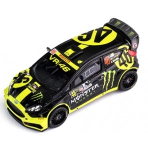 1:18 Ford Fiesta RS WRC, No46, 'Monster Rallye Monza' Rossi/ Cassina