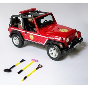 1:18 Jeep Wrangler Rubicon (Brush Fire Unit)