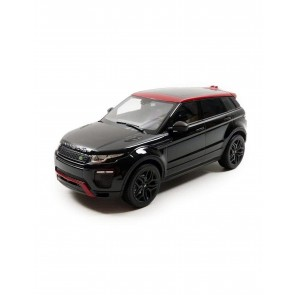 1:18 Range Rover Evoque 2011 Black & Red