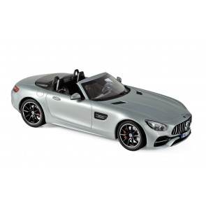 1:18 Mercedes-AMG GT C Roadster - Silver