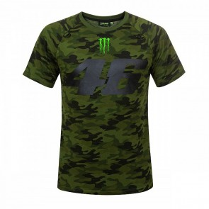 'Adult' 2018 VR46 Camouflage Camp T-shirt