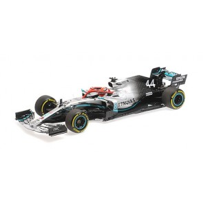 1:18 Mercedes AMG Petronas Motorsport F1 W10 EQ Power - Lewis Hamilton Winner Monaco GP 2019