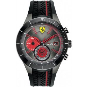 Ferrari Redrev Evo Chrono Red/Black 46MM