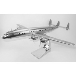 Lockheed L-1049 Super Constellation aluminium met standaard