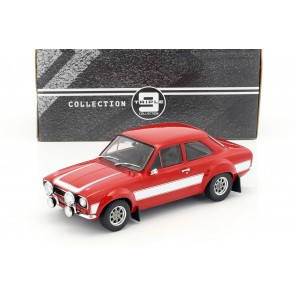1:18 Ford Escort Rood/Wit