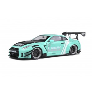 1:18 Nissan GT-R 35 LB Works Type 2 Turquoise