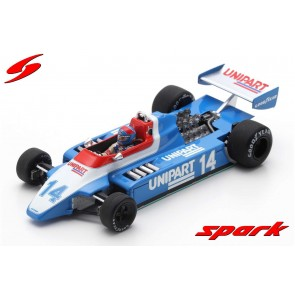 1:43 Ensign N180, British GP 1980, J. Lammers