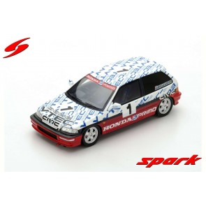 1:43 Honda Civic EF-9 Group N 1990 Ayrton Senna test Suzuka