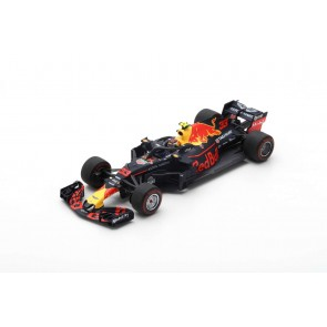 1:43 Red Bull Racing-TAG Heuer No.33 Max Verstappen 'Winner Mexican GP 2018'