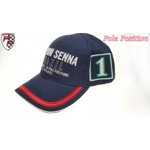 'Adult' Ayrton Senna Cap Brazil 3 times World Champion