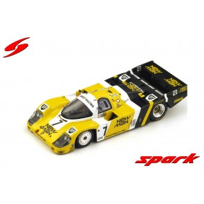 "1:43 Porsche 956B no.7 Winner 24H Le Mans 1985 NEW-MAN Joest Racing J. ""Winther"" - P. Barilla - K. Ludwig"