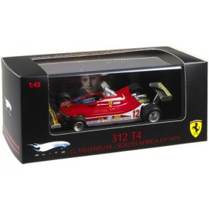 1:43 Ferrari 312 T4 Gilles Villeneuve - South Africa GP 1979