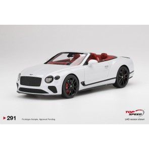 1:18 Bentley Continental GT Convertible - Ice White