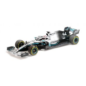 1:18 Mercedes AMG Petronas Motorsport F1 W10 EQ Power - Lewis Hamilton World Champion USA GP 2019