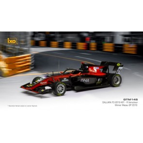 1:43 Dallara F3 #21 Richard Verschoor - Winner GP Macau 2019