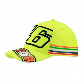 'Kids' 2018 VR46 Rossi cap 'Stripes'