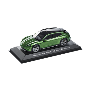 1:43 Porsche Taycan Turbo S Cross Turismo Mamba Green