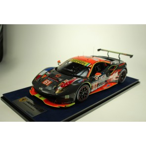 1:18 Ferrari 488 GTE #61 Clearwater Racing Le Mans 2017