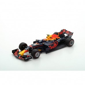 *Schade* 1:18 Red Bull Racing RB13, Max Verstappen 'Winner GP Malaysia 2017' 'SPARK'