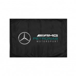 2018 Mercedes AMG F1 Team Fan flag