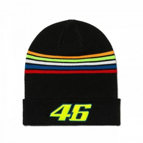 'Adult' 2018 VR46 Beanie 'Stripes'