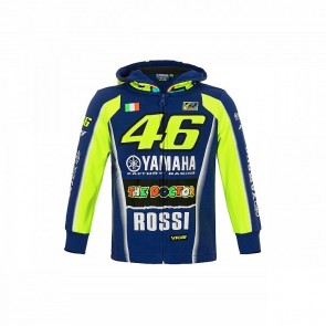 'Kids' 2018 VR46 Rossi Yamaha Team Zip Fleece